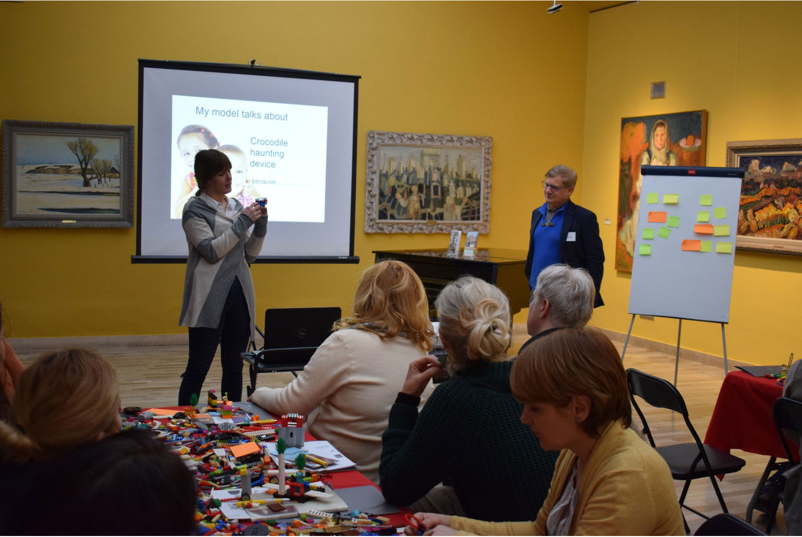 Workshops in the Gallery of Matica srpska
